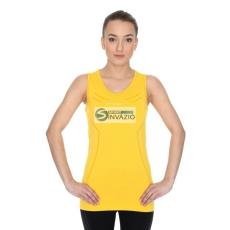 Brubeck Póló termolépés▶ywna Brubeck Athletic W TA10200 sárga