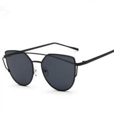 Cat Eye Aviator style - fekete