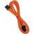 Bitfenix PCI Express 8 pin Tápkábel Narancssárga 45cm BFA-MSC-8PEG45OK-RP