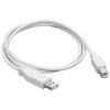 OEM USB 2.0 interfész 1,8 méter AB - fehér (szürke)