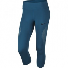Nike Power Crop Racer Női 3/4-es Leggings, Kék, XL (855144-457-XL)