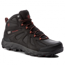 Columbia Bakancs COLUMBIA - Peakfreak Xcrsn II Mid Leather Outdry BM1760 Black/Super Sonic 010