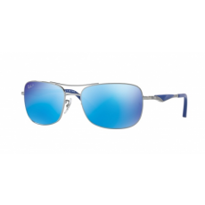 Ray-Ban RB3515 004/9R GUNMETAL GREEN MIRROR BLUE POLAR napszemüveg