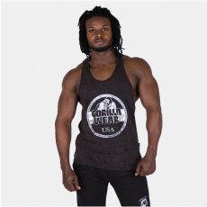 MILL VALLEY TANK TOP - BLACK/BROWN/SILVER (BLACK) [M]