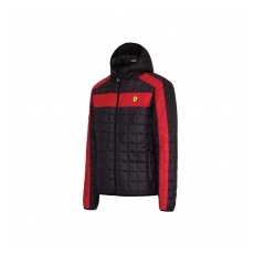 Branded Ferrari női kabát Packable black F1 Team 2016 - XS