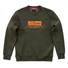 Alpha Industries Inlay Sweater - dark green