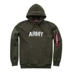 Alpha Indsutries Army Navy Hoody - dark green