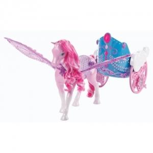 Mattel Barbie Mariposa Pegazus hintó