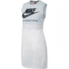 Nike International Női Atléta, Brich Heather/Fehér, XS (833205-051-XS)