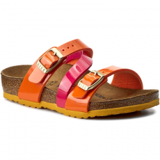 Birkenstock Papucs BIRKENSTOCK - Salina Kids 1003309 Tropical Orange/Pink