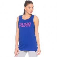 Puma Athletic női trikó, Blue/Pink, XXS (59075110-XXS)
