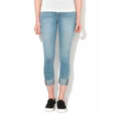 Only Carmen Szűk Fazonú Kék Crop Farmernadrág W29-L32 (15129223-LIGHT-BLUE-DENIM-W29-L32)