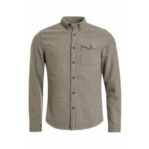 Next TBC NEXT Long Sleeve Shirt With Wool XL (973028-GREY-XL)