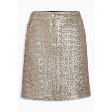 Next TBC NEXT Sequin Skirt 8 (433356-GOLD-8)