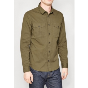 Next TBC NEXT Long Sleeve Twin Pocket Shirt L (456359-GREEN-L)