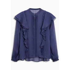 Next TBC NEXT Ruffle Blouse 12 (718043-BLUE-12)