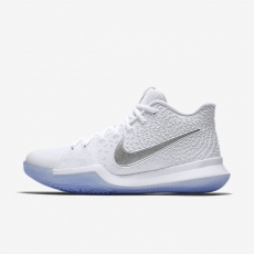 Nike Kyrie 3 White Chrome