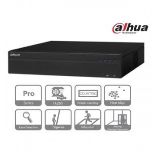 Dahua NVR5864-4KS2 NVR, 64 csatorna, H265, 320Mbps rögzítési sávszélesség, HDMI+VGA, 3xUSB, 8x Sata, I/O, Raid