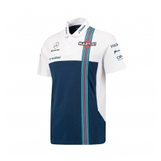 Williams F1 Team Williams Martini Racing férfi galléros póló whiteblue 2017 - XL