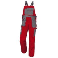 MV piros/szürke MAX EVO kertésznadrág 46-64