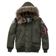 Alpha Industries Polar Jacket SVL Női - dark green
