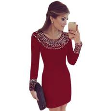 Csakcsajok Vörös,díszes elegáns ruha