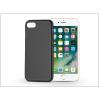 Haffner Apple iPhone 7 szilikon hátlap - Jelly Flash Mat - fekete
