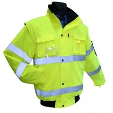 FLASH SHORT Jól Láthatósági Sárga Vízálló Kabát, II kat. (Flash Jol láthatósági munkaruha)