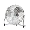 FK Technics 4738639 - Padló ventilátor, 45 cm, 3 sebesség, króm, 140W