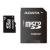 ADATA A-Data 4GB microSDHC CL4 memória kártya + Adapter