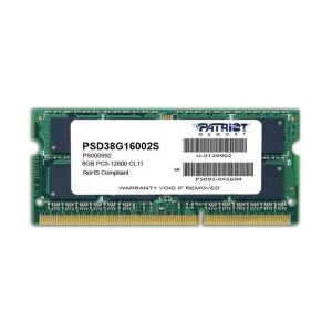 Patriot 8GB DDR3 1600MHz PSD38G16002S