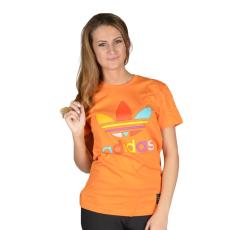 Adidas Mono Color Tee női póló narancs S