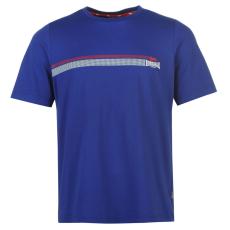 Lonsdale 2 Stripe férfi póló kék L