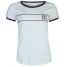 SoulCal Deluxe Baseball Strip női póló kék M