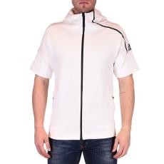 Adidas Zne Ss Hoody Nd férfi kapucnis cipzáras pulóver fehér L