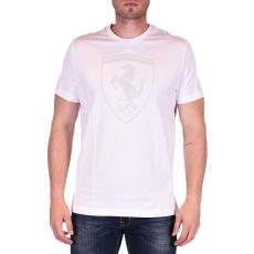 Puma Ferrari Big Shield Tee férfi póló fehér XXL