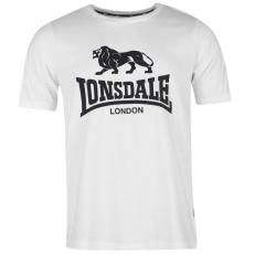 Lonsdale LL férfi póló fehér 3XL