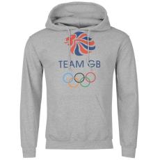 Team GB OTH férfi kapucnis pulóver szürke L