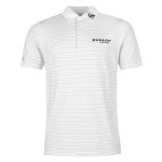 Dunlop Lightweight Strand férfi galléros póló fehér L