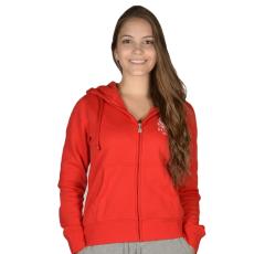 Russell Athletic Női cipzáras pulóver piros M