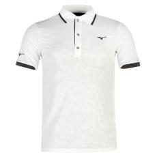 Mizuno JQ Golf férfi galléros póló fehér M