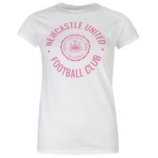 NUFC Graphic női póló fehér L