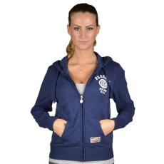 Russell Athletic Női cipzáras pulóver kék S