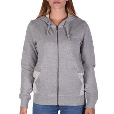 Converse Metallic Fz Hoodie női cipzáras pulóver szürke M