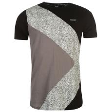 Fabric Splttr Panl T Sn73 férfi póló fekete L