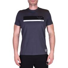 Emporio Armani T-shirt férfi póló sötétszürke L