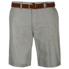 Pierre Cardin Oxford férfi rövidnadrág övvel szürke M