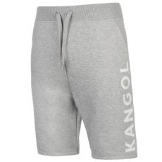 Kangol Large Logo férfi rövid melegítőnadrág szürke S