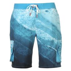 SoulCal Férfi zsebes úszónadrág világoskék XL