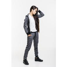 Dorko Basic Sweat Hoody Gray Marl női cipzáras pulóver szürke XL